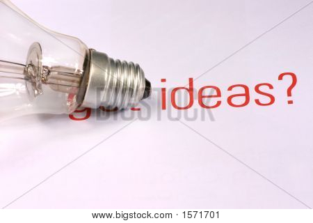 Ideas With Lightbulb