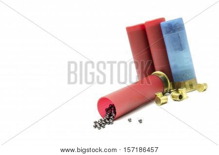 empty sleeve for loading ammunition for hunting rifles