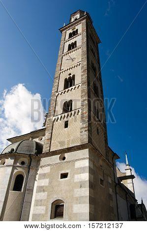 Santuario della Madonna di Tirano 1513 (Sanctuary of the Our Lady of Tirano). Sondrio Lombardy Italy