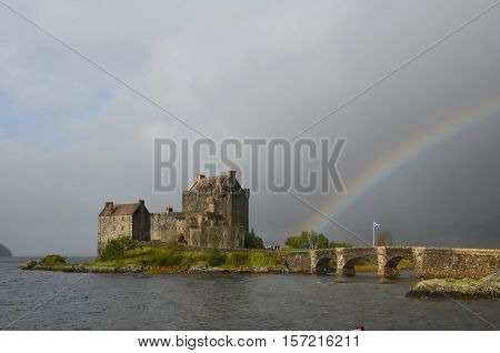 A great look at Eilean Donan Castle in Scotland.