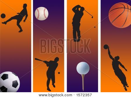 Football, Golf And Basketball 2