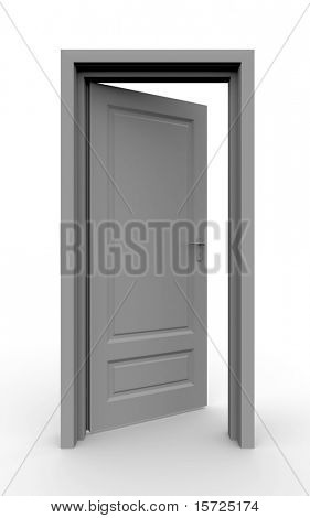 Isolated door