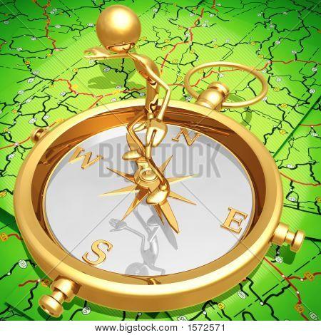 Balancing On Compass