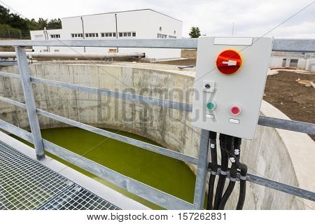 Water Treatment Plant Switchboard