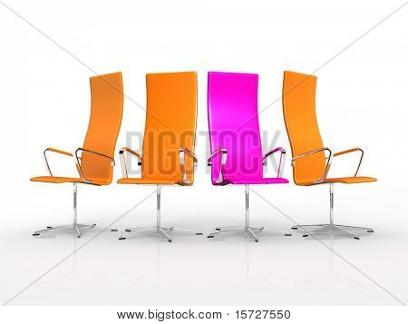Glamour armchairs