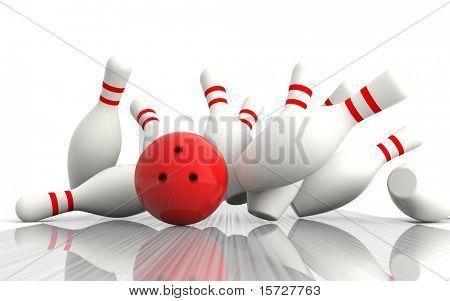Bowling - genaue Treffer