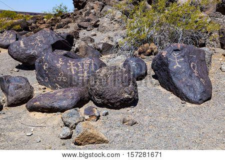 Petroglyph Site, Near Gila Bend, Arizona