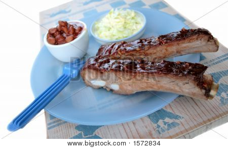 Barbecued Ribs 2