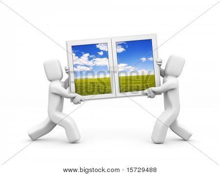 Windows to new season