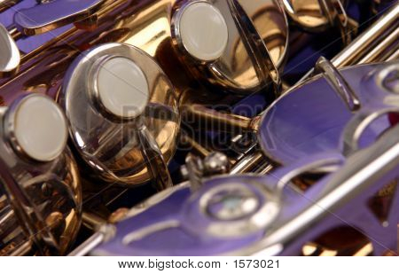 Alto Sax Close Up