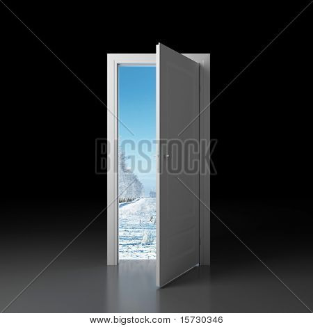 Door to winter