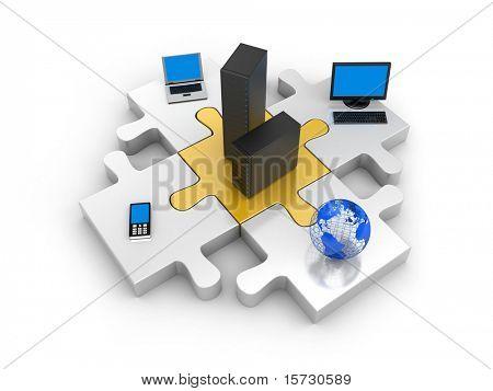 Tecnologia de informação do mundo