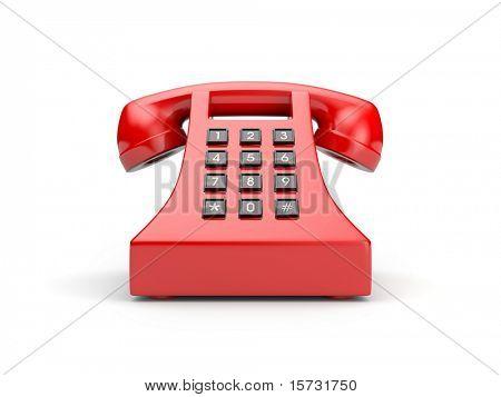 Retro telephone. More colors in my portfolio