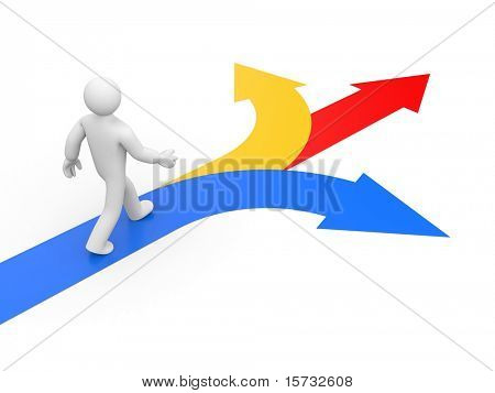 Selecting the right direction