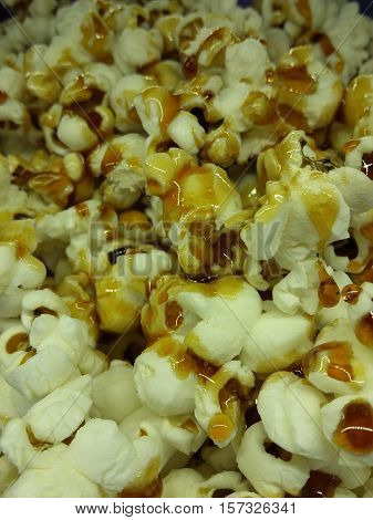 POPCORN FLAKES WITH SUGAR CARAMEL HOME MADE