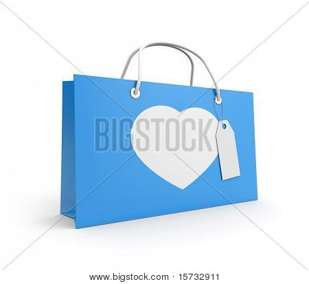 Bag for valentine's day