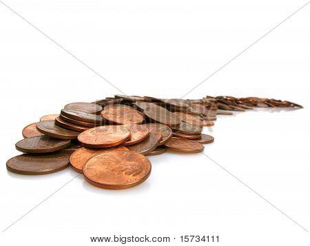 Monedas de un centavo