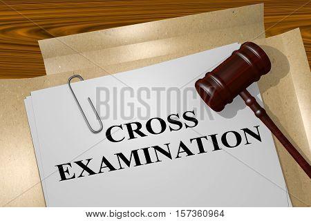 Cross Examination Concept