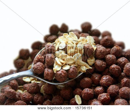 Chocolate corn flakes