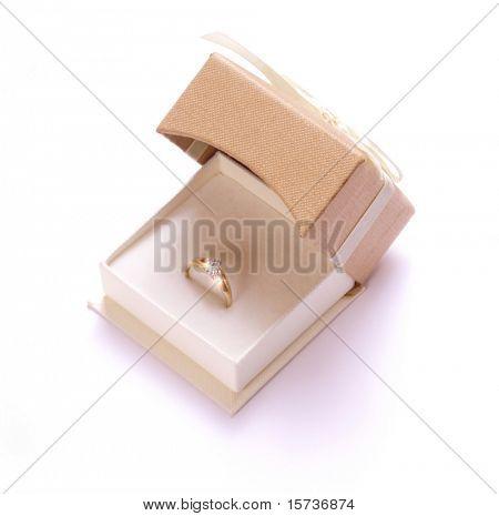 Gift a box wedding ring