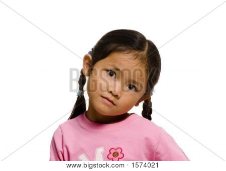 Young Girl With Expression