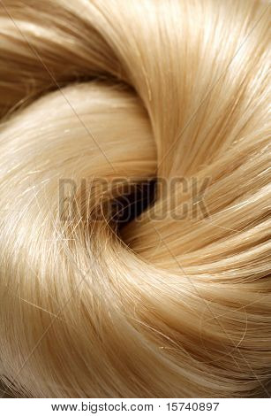 long blond human hair background