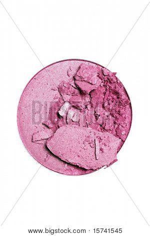 make-up eyeshadow or blush