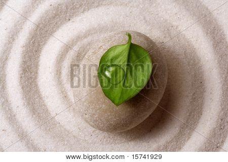 zen garden stone