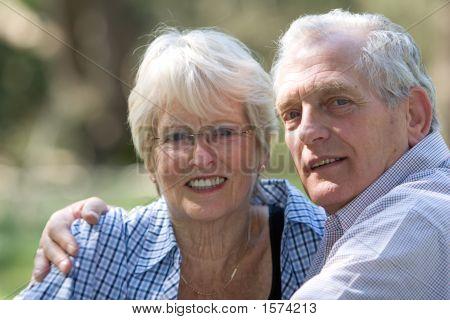 Lindo casal sênior