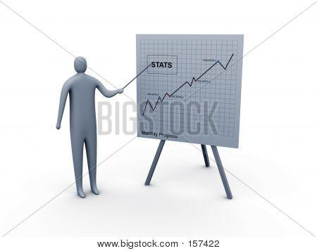 Presentación de estadísticas