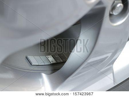 Wheel Balancing Weight Adhesive Type on car wheel