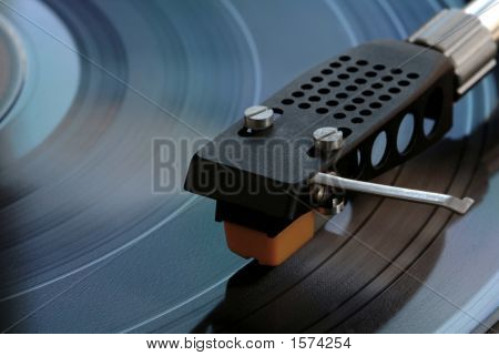 Old Vinyl Player