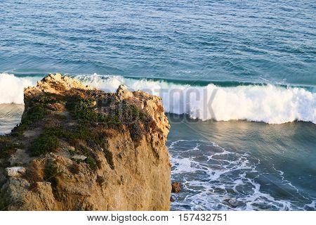 Bluff At The Beach