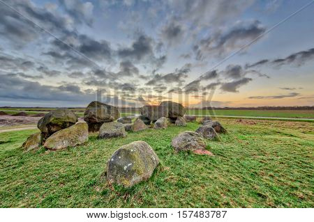 Hunnic Megalithic Dolmen