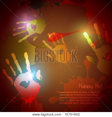 vector hand splashes vector background