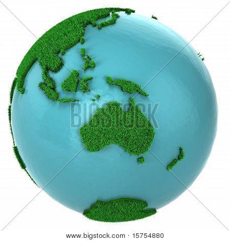 Globe Of Grass And Water, Australia Part