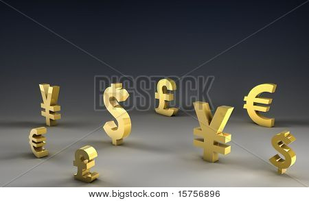 Foreign Exchange on Forex Market World Currencies