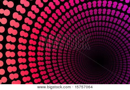 Pink Space Supernova as a Abstract Background