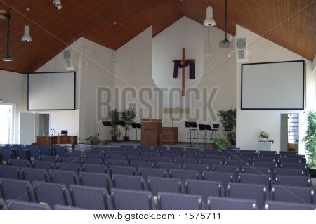 American Church In Germany Interior