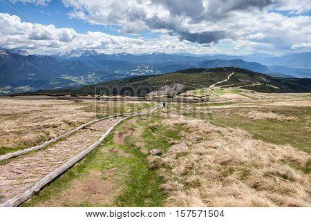 Ascent To The Rittnerhorn