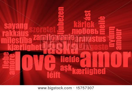 Love in Many Languages Text Abstract Background