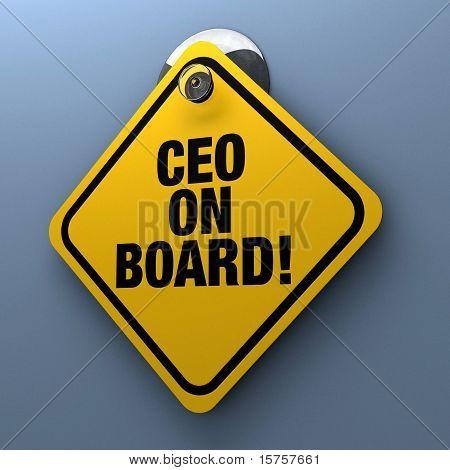 CEO a bordo