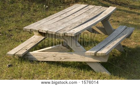 Broken Picnic Table
