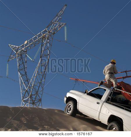 Working In The Desert
