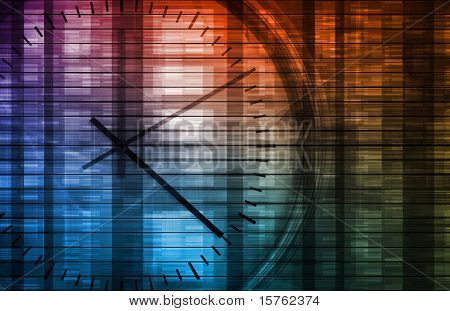 Business Management of Time and Schedule Concept