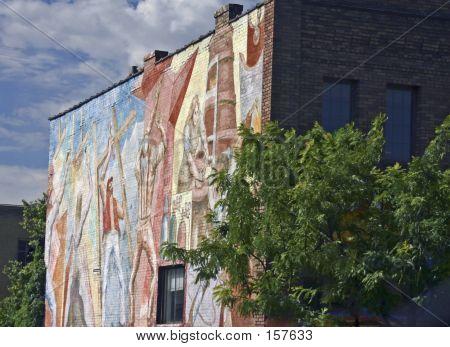 Craftsperson Mural