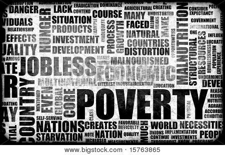 Poverty Grunge Background in Black Harsh Tones