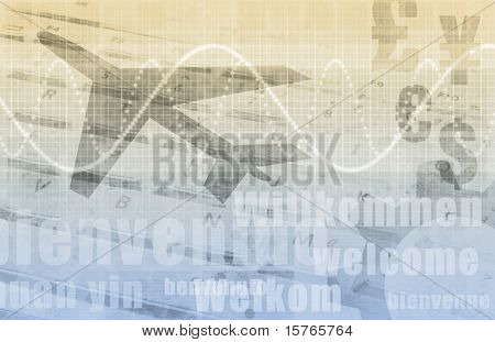 International Business Travel Abstract As a Art