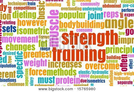 Strength Training Concept as a Workout Fitness