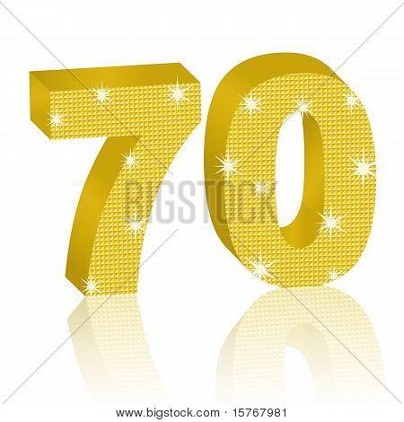 Golden Number Seventy